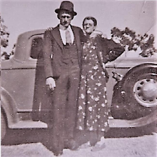Attie Steyn's Grand Parents